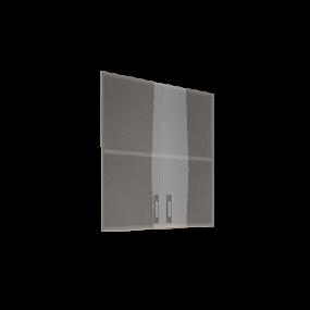 Двери шкафа стеклянные в рамке LT-S2R Л/Пр